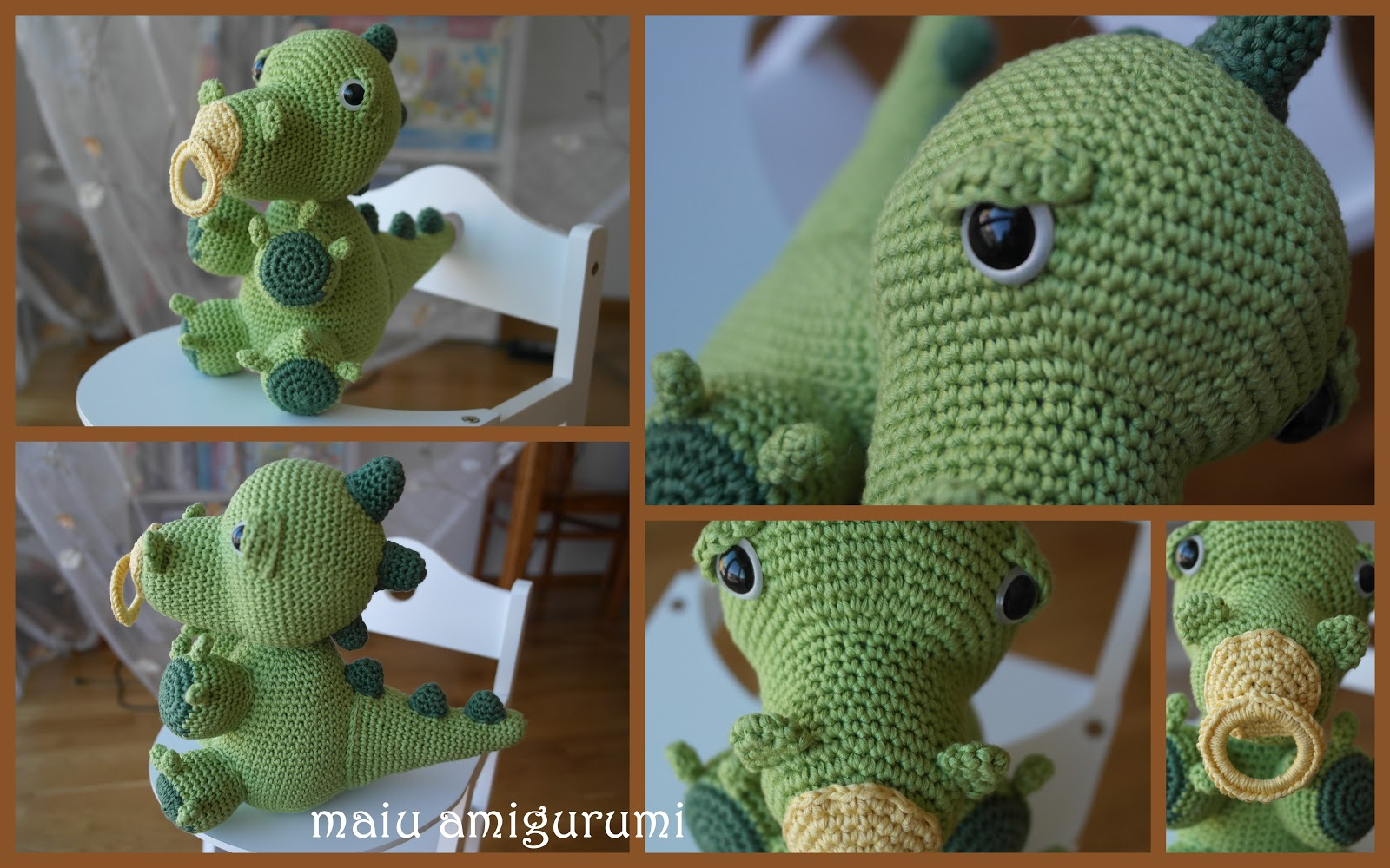 one more baby dragon maiu amigurumi