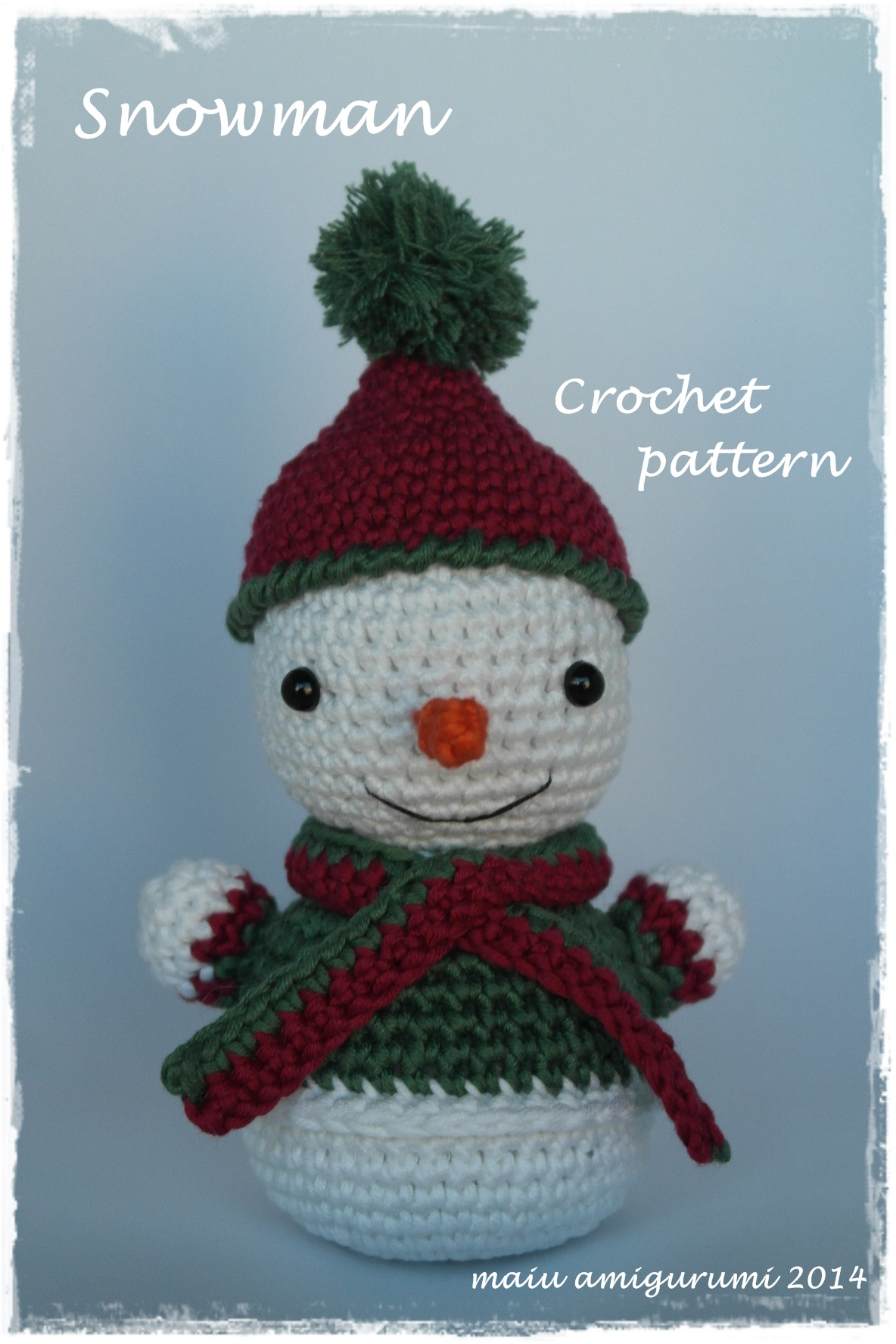 Crochet Patterns Free Snowman : amigurumi