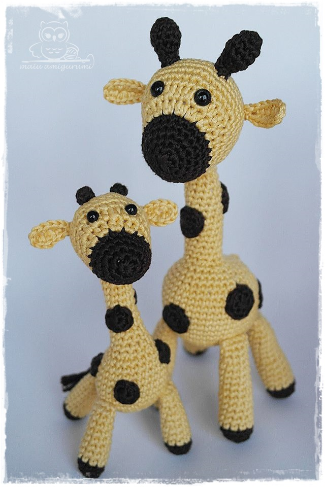 HOW TO CROCHET LITTLE GIRAFFE 🦒🦒🦒 - YouTube | 960x640